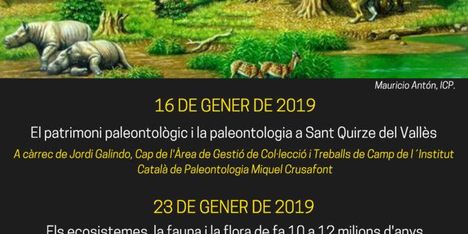 Confèrencia de Paleontologia